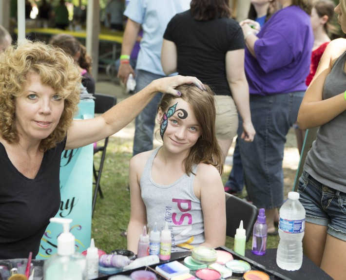 Picnic Face Paint